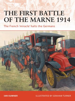 cover image of The First Battle of the Marne 1914