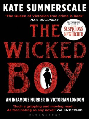 cover image of The Wicked Boy