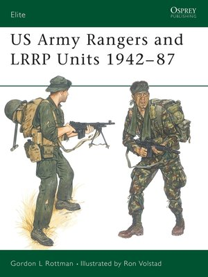 cover image of US Army Rangers & LRRP Units 1942–87