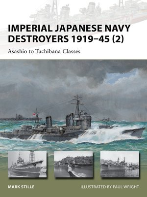 cover image of Imperial Japanese Navy Destroyers 1919-45 (2)