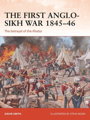 cover image of The First Anglo-Sikh War 1845–46