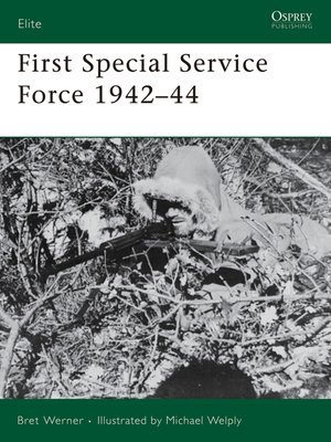 cover image of First Special Service Force 1942–44
