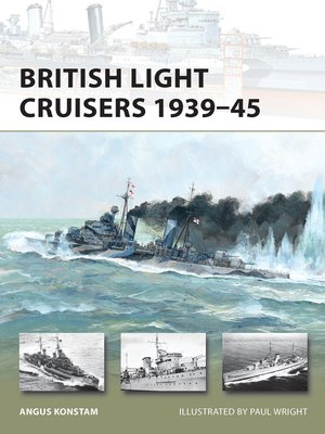 cover image of British Light Cruisers 1939–45