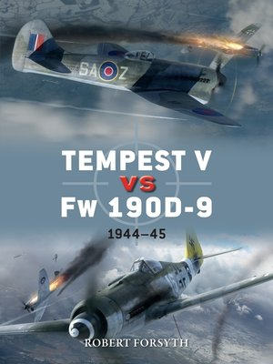 cover image of Tempest V vs Fw 190D-9