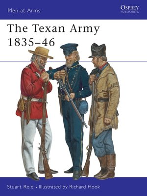 cover image of The Texan Army 1835–46