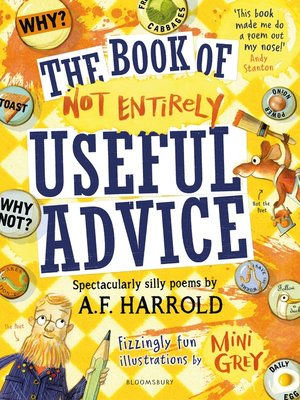 cover image of The Book of Not Entirely Useful Advice