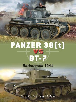 cover image of Panzer 38(t) vs BT-7