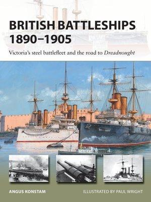 cover image of British Battleships 1890–1905