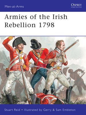 cover image of Armies of the Irish Rebellion 1798