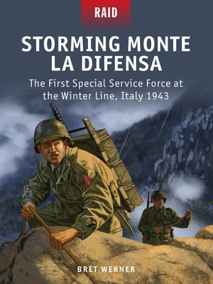 cover image of Storming Monte La Difensa