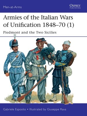 cover image of Armies of the Italian Wars of Unification 1848–70 (1)