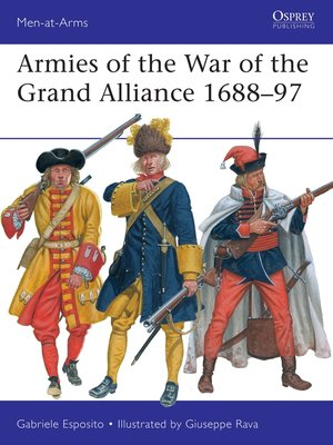 cover image of Armies of the War of the Grand Alliance 1688–97