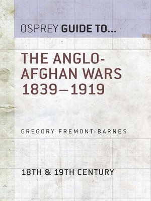 cover image of The Anglo-Afghan Wars 1839–1919