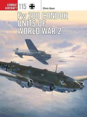 cover image of Fw 200 Condor Units of World War 2