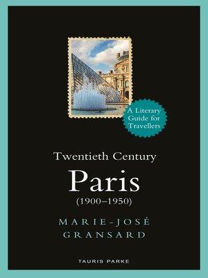 cover image of Twentieth Century Paris