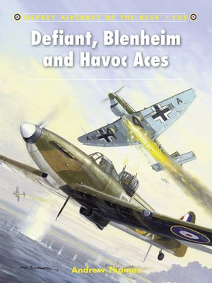 cover image of Defiant, Blenheim and Havoc Aces