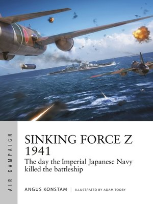 cover image of Sinking Force Z 1941