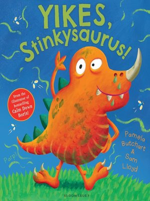 cover image of Yikes, Stinkysaurus!