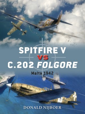 cover image of Spitfire V vs C.202 Folgore