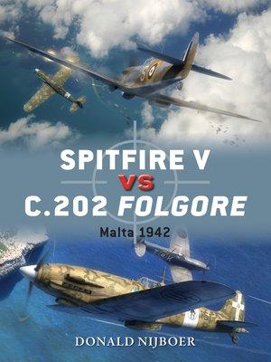 cover image of Spitfire V vs C.202 Folgore