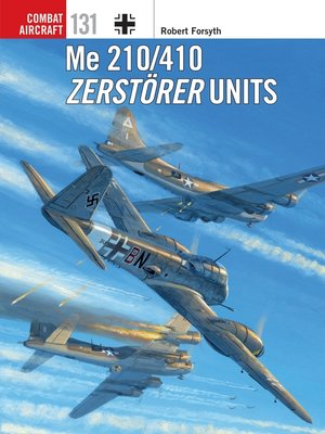 cover image of Me 210/410 Zerstörer Units