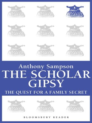 cover image of The Scholar Gypsy