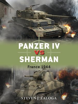 cover image of Panzer IV vs Sherman