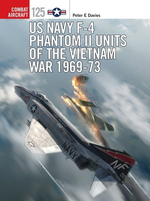 cover image of US Navy F-4 Phantom II Units of the Vietnam War 1969-73