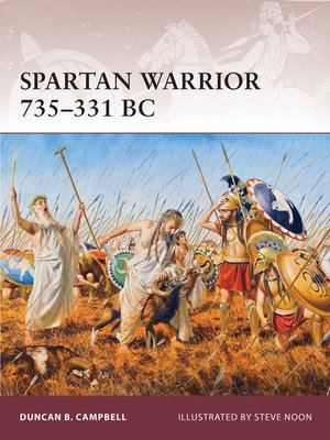 cover image of Spartan Warrior 735-331 BC