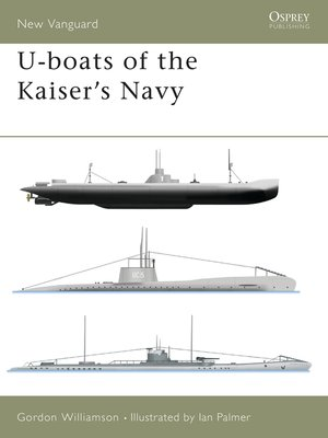 cover image of U-boats of the Kaisers Navy