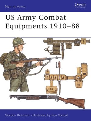 cover image of US Army Combat Equipments 1910–88