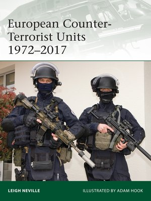 cover image of European Counter-Terrorist Units 1972–2017