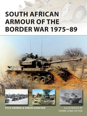 cover image of South African Armour of the Border War 1975–89