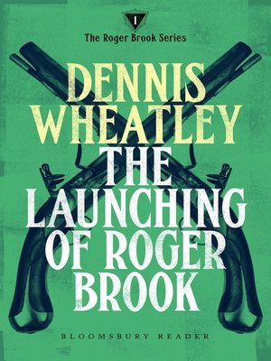 cover image of The Launching of Roger Brook