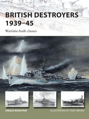 cover image of British Destroyers 1939–45