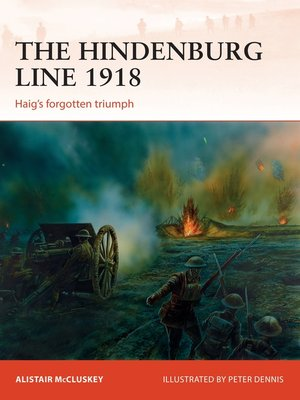 cover image of The Hindenburg Line 1918