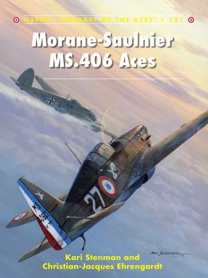 cover image of Morane-Saulnier MS.406 Aces