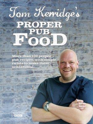 cover image of Tom Kerridge's Proper Pub Food