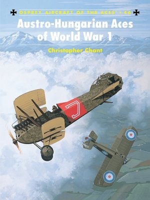 cover image of Austro-Hungarian Aces of World War 1