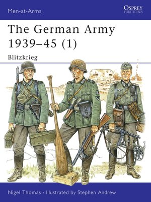 cover image of The German Army 1939–45 (1)