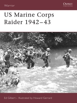 cover image of US Marine Corps Raider 1942-43