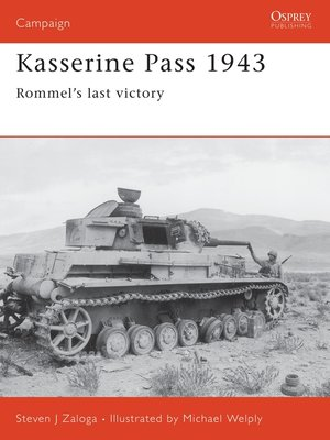 cover image of Kasserine Pass 1943