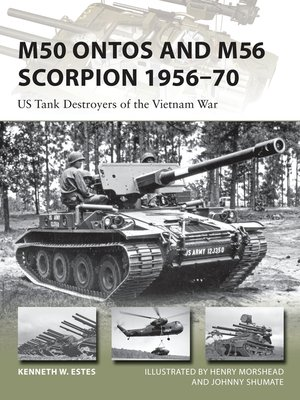 cover image of M50 Ontos and M56 Scorpion 1956–70
