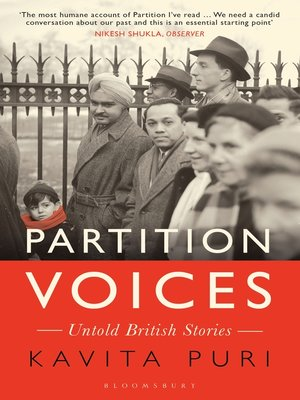 cover image of Partition Voices