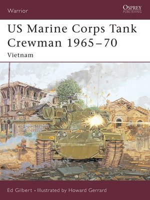 cover image of US Marine Corps Tank Crewman 1965–70