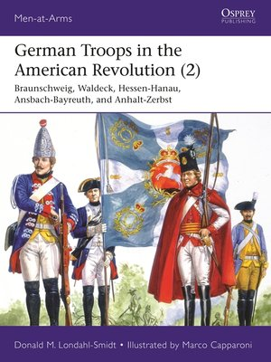cover image of German Troops in the American Revolution (2)