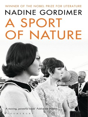 cover image of A Sport of Nature