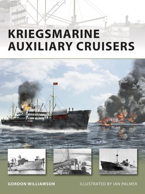 cover image of Kriegsmarine Auxiliary Cruisers