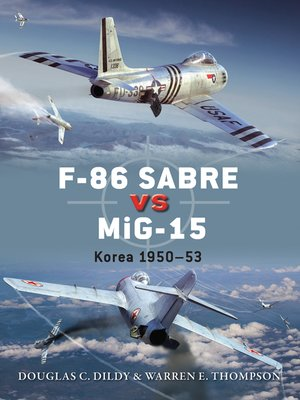 cover image of F-86 Sabre vs MiG-15