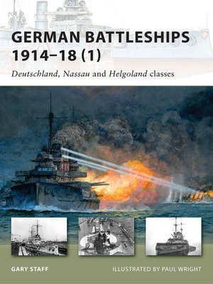 cover image of German Battleships 1914–18 (1)